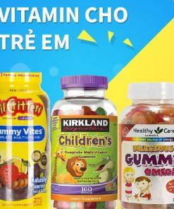 Vitamin cho trẻ em