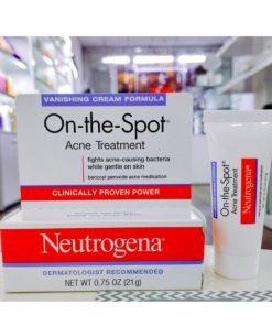kem tri mun neutrogena on the spot acne treatment clinically proven power 21g 1