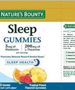 keo deo giup ngu ngon natures bounty sleep health gummies 60 vien 1