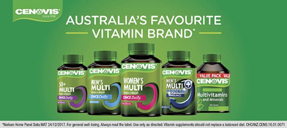Viên uống Vitamin tổng hợp cho người lớn Cenovis Multivitamin & Minerals 200 viên