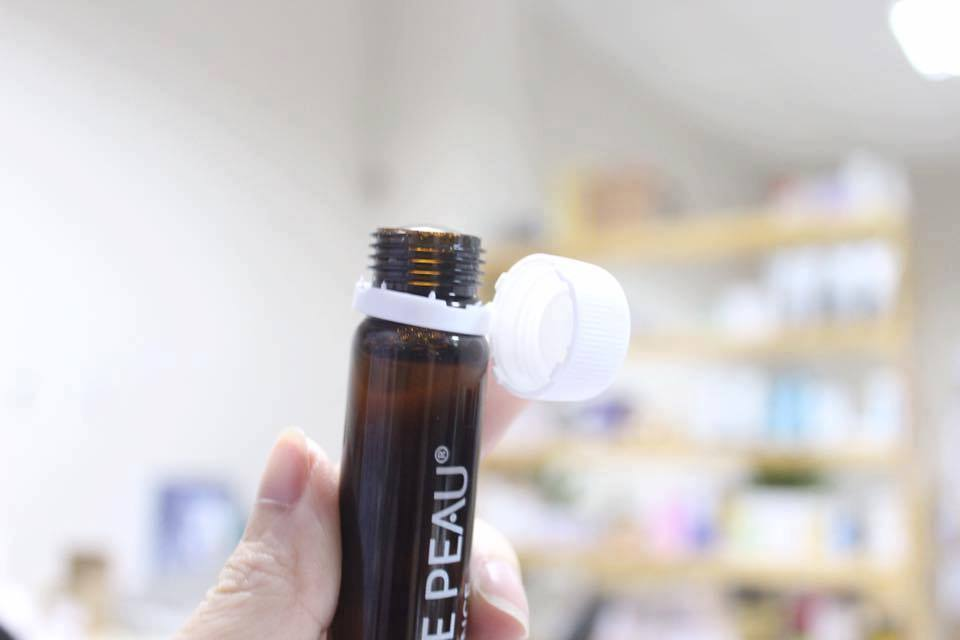 Collagen tăng cường chống lão hóa Perles de Peau 5000mg 25mlx10 ống