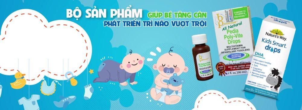 DHA cho bé Nature's Way Kids Smart DHA Drop 20ml