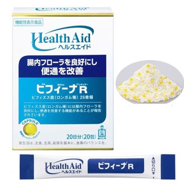 Men vi sinh hỗ trợ tiêu hóa Health Aid 20gx20 gói