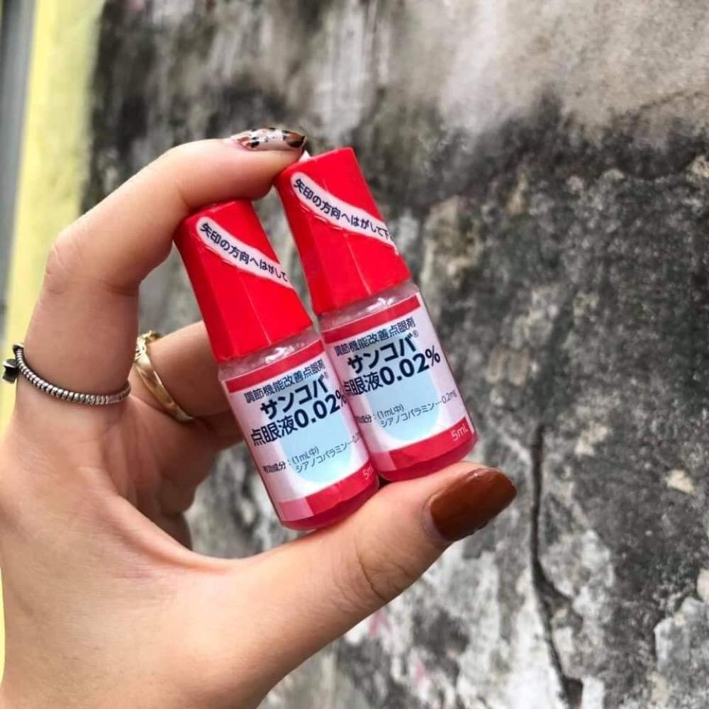 Thuốc nhỏ mắt Santen Nhật Bản Sancoba 5ml x10 lọ