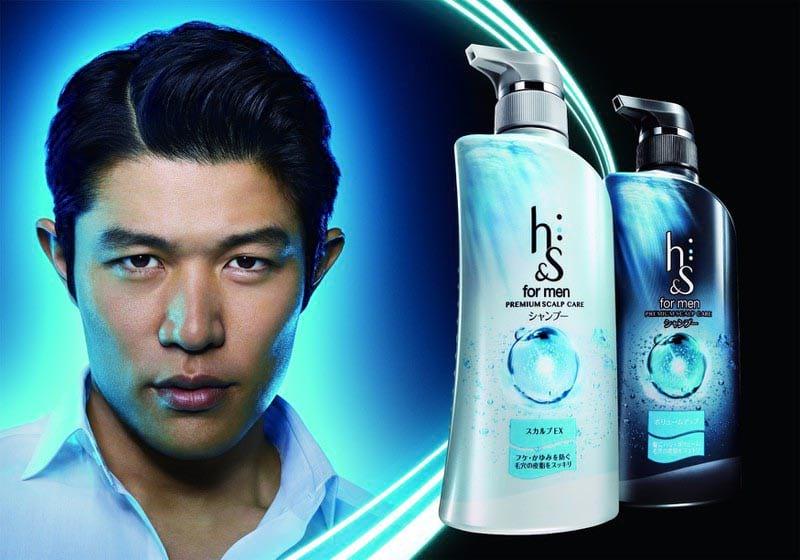Dầu gội trị gàu nam của Nhật Head & Shoulders For Men Premium Scalp Care 370ml