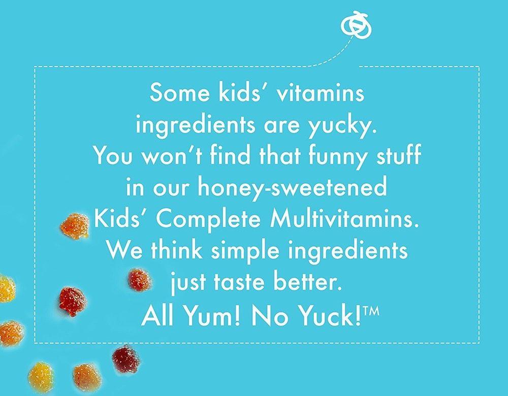 Kẹo dẻo bổ sung đa vitamin cho trẻ Zarbee's Toddler Multivitamin Tolal B Complex 110 viên