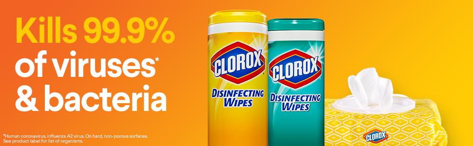 Khăn lau khử trùng Clorox DisinFecting Wipe to go 9 miếng