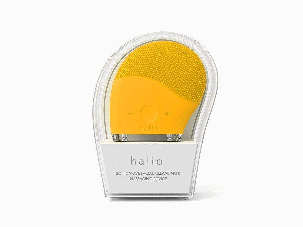 Máy rửa mặt Halio Facial Cleasing & Massage Device (Vàng)