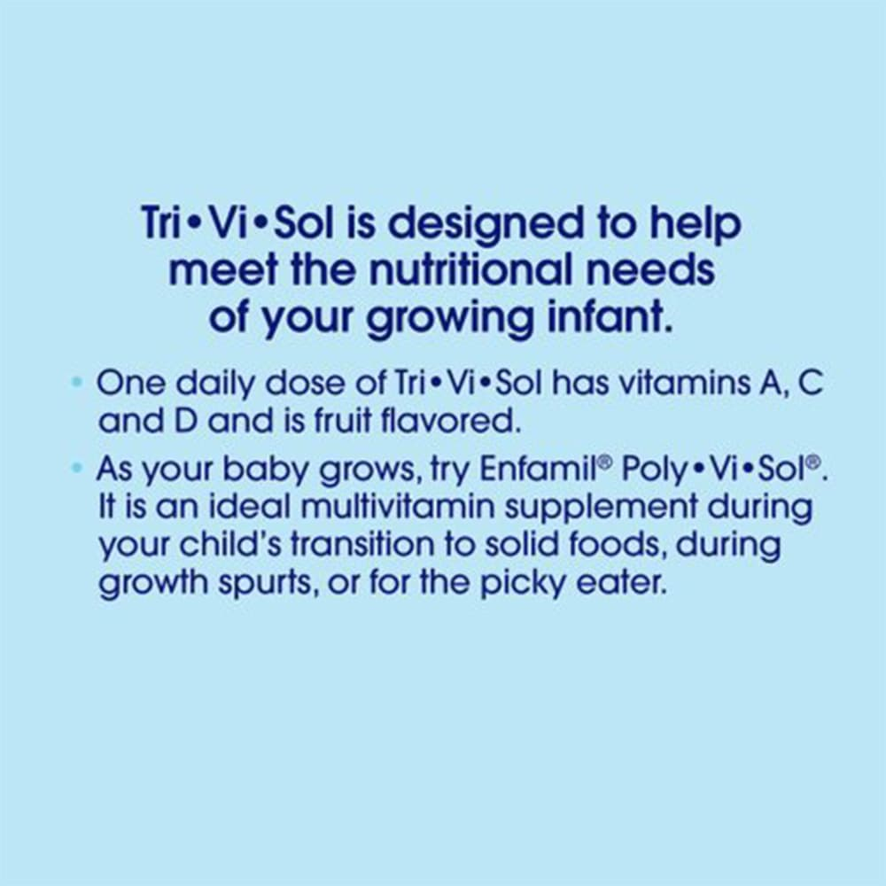 Siro Enfamil bổ sung Vitamin A,C&D Enfamil Tri Vi Sol 50ml (Xanh)
