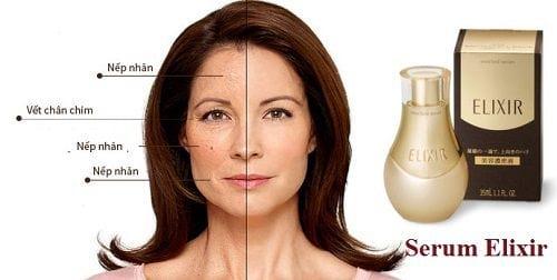 Serum dưỡng da nâng cơ chống nhăn Elixir Enriched serum 35ml