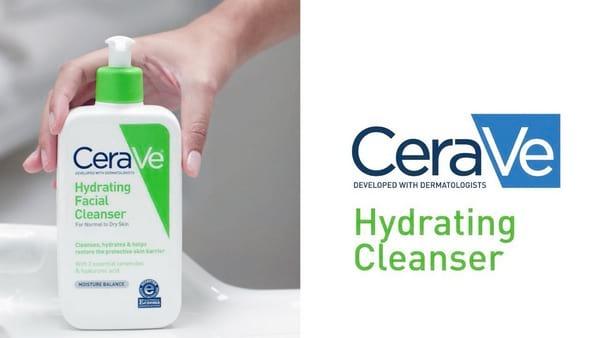 Sữa rửa mặt cân bằng độ ẩm CeraVe Hydrating Facial Cleanser Moisture Balance 355ml