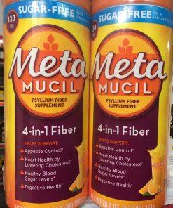 bot cam bo sung chat xo metamucil multihealth fiber sugar free 130 lieu luong kl