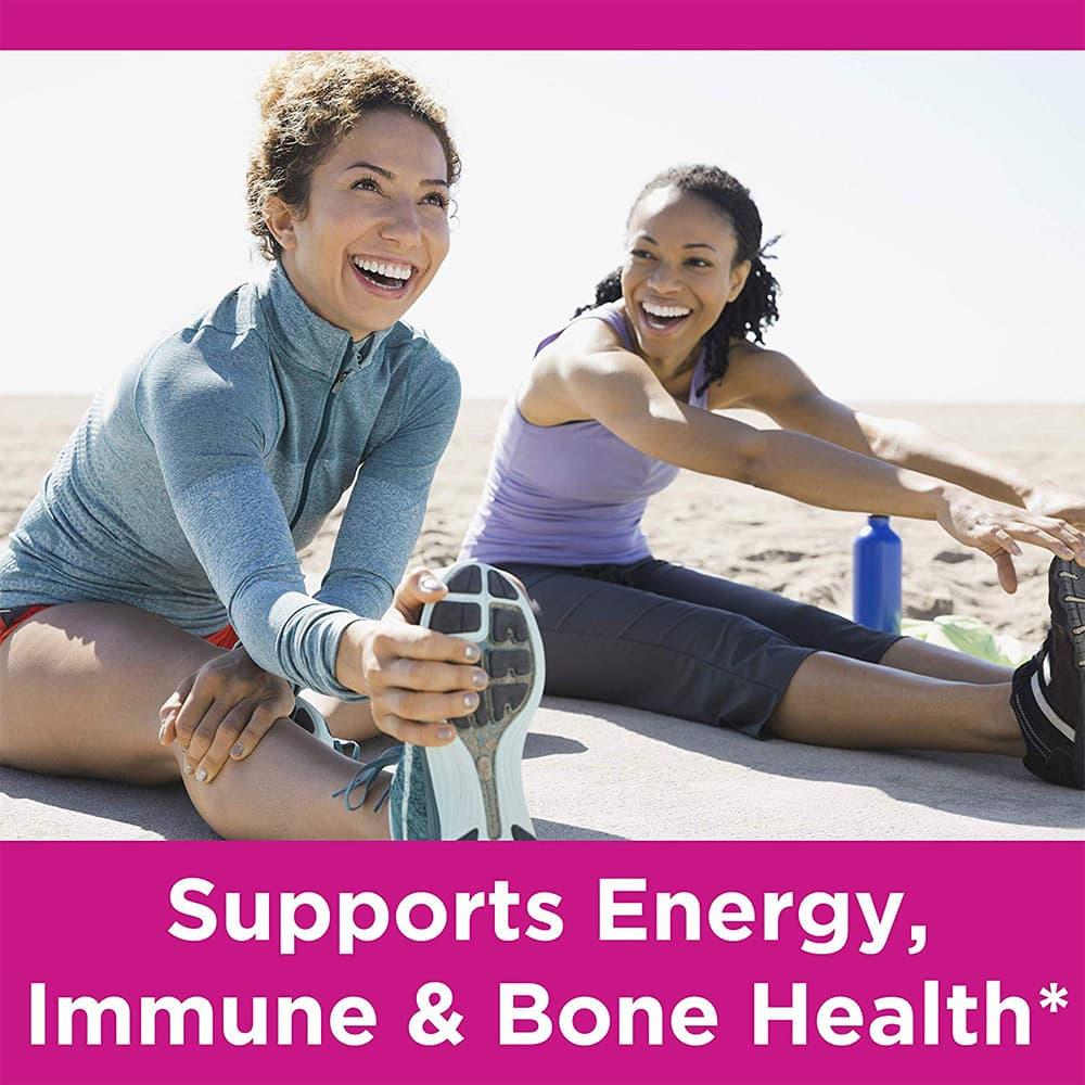Kẹo dẻo đa Vitamin cho nữ Nature's Bounty Women's Multivitamin Gummies 240 viên