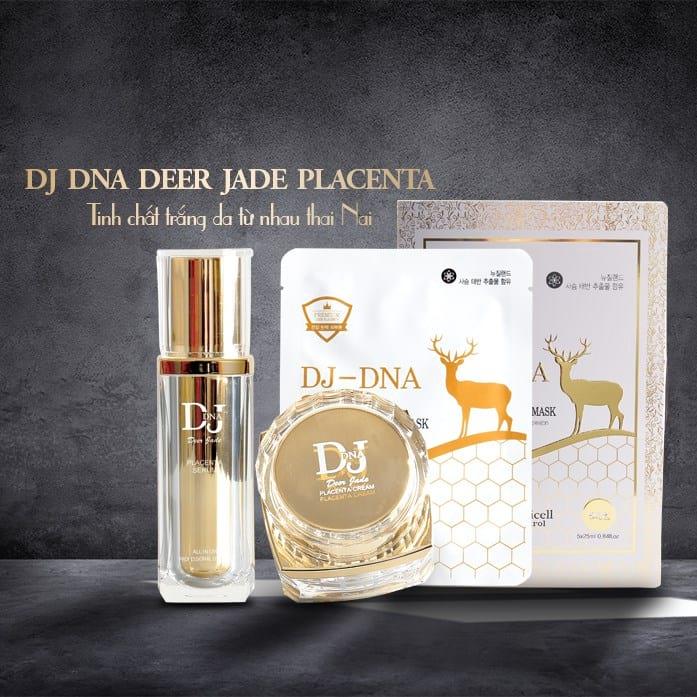 Bộ mỹ phẩm dưỡng da nhau thai hươu nai Dj DNA Deer Placenta