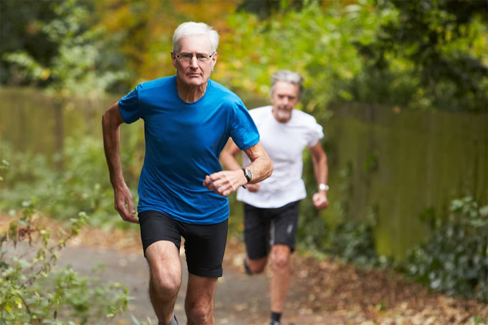 old people joint health running 1000
