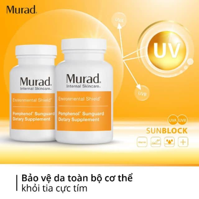 vien uong chong nang murad pomphenol sunguard dietary supplement 60 vien kd