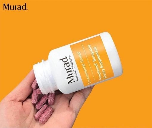 vien uong chong nang murad pomphenol sunguard dietary supplement 60 vien ke
