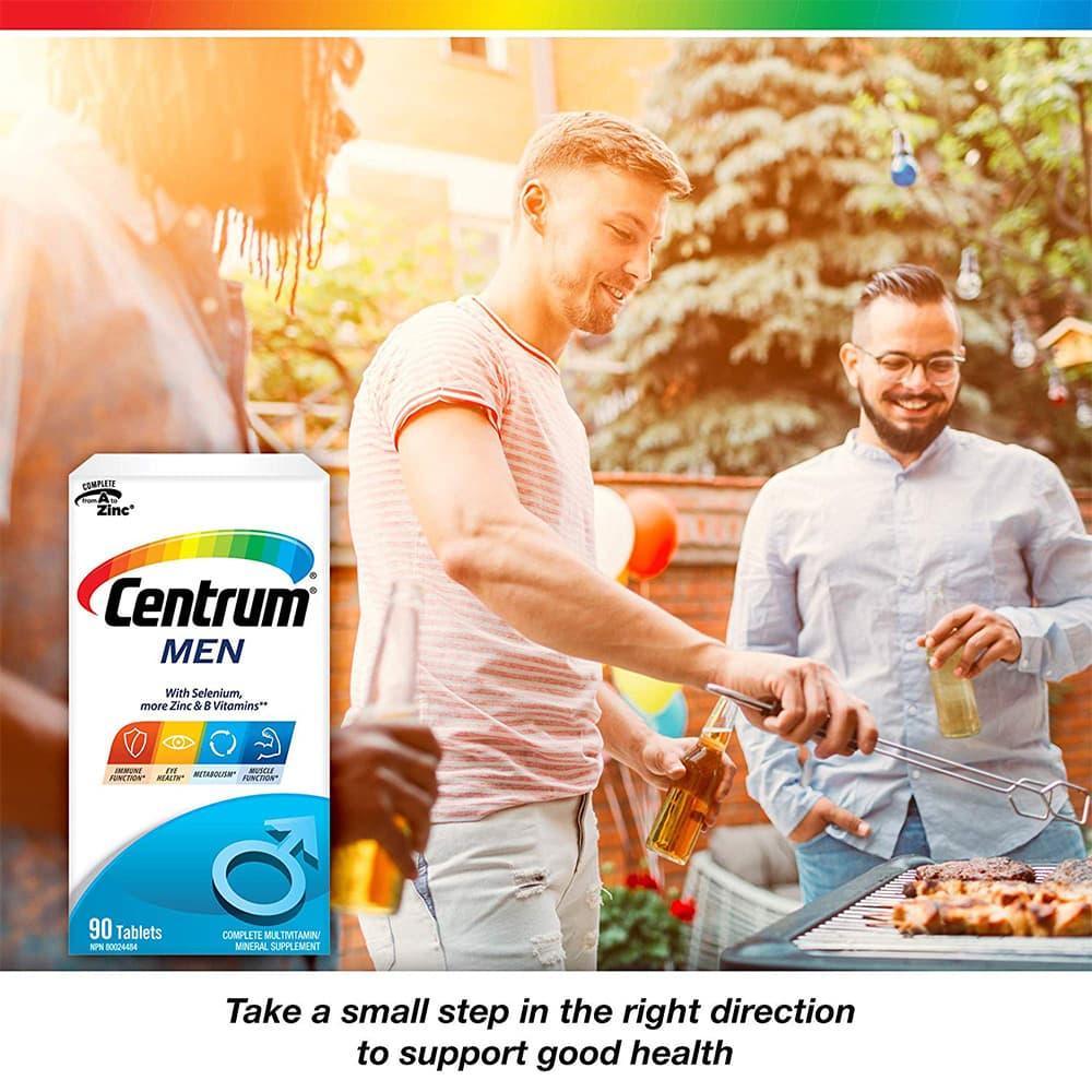 Vitamin dành cho nam Centrum Men 90 viên