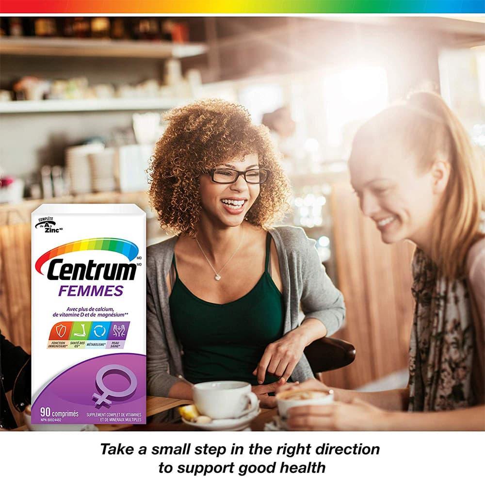 Vitamin dành cho nữ Centrum Femes 90 viên