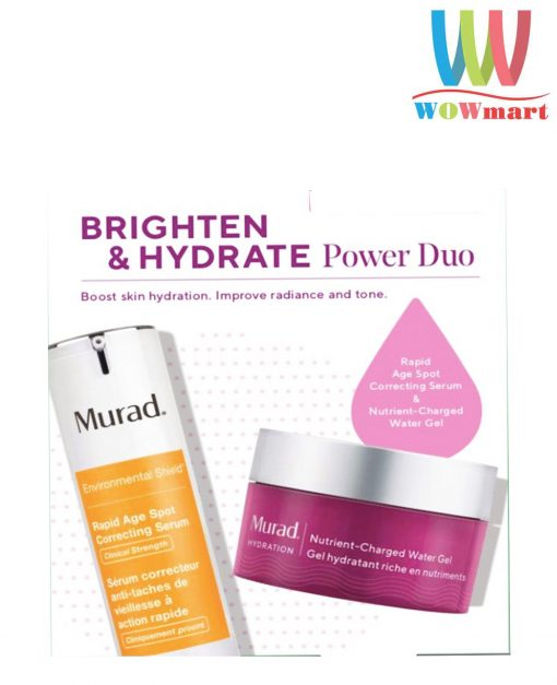 Set tri nam dom mau Murad Brighten Hydrate Power Duo 1