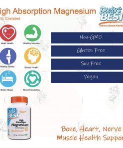 Vien uong bo sung magie Doctors Best High Absorption 100mg 120 vien9
