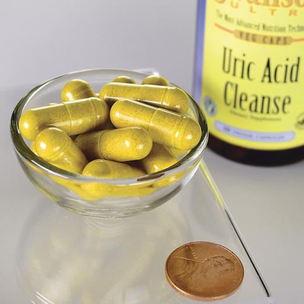 Viên uống hỗ trợ thận Swanson Uric Acid Cleanse Kidney Support 60 viên