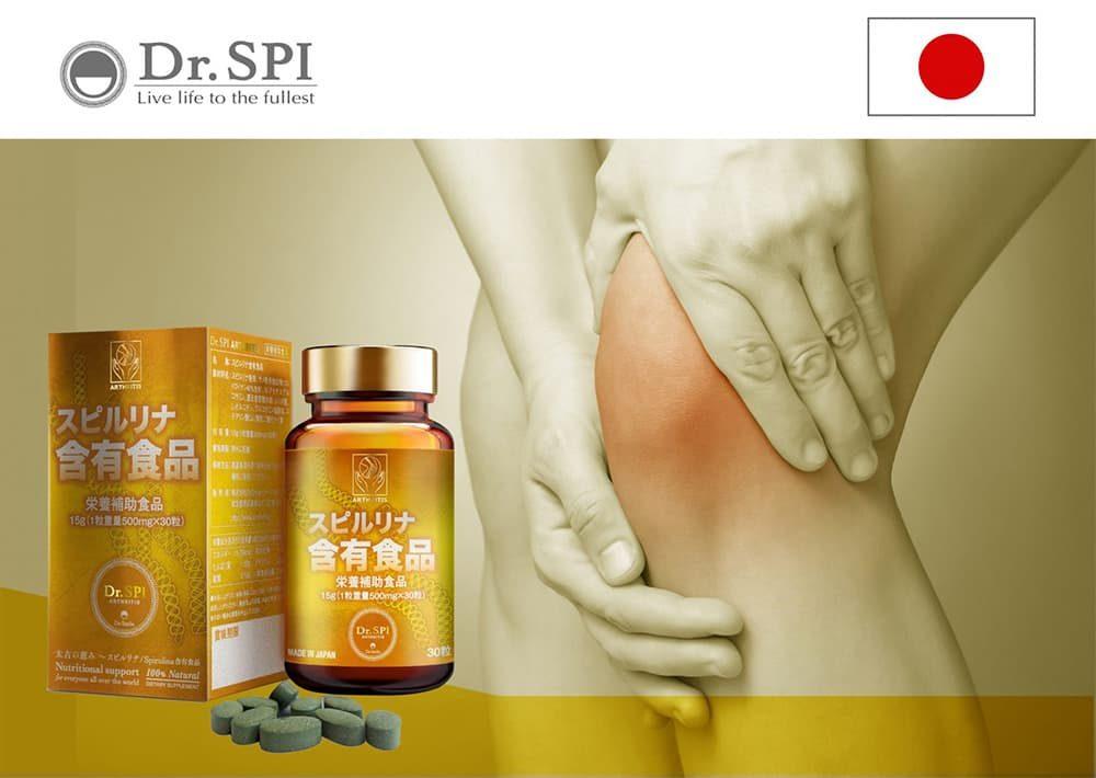 Viên uống hỗ trợ xương khớp Dr.Spi Arthritis 30 viên
