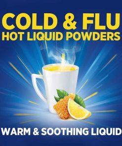 Theraflu Multi Symptom Nighttime Severe Cold Cough 24 Powder Packets 3