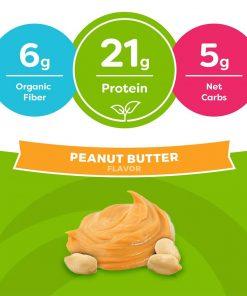 bot protein huu co orgain organic protein 920g huong bo dau phong kd