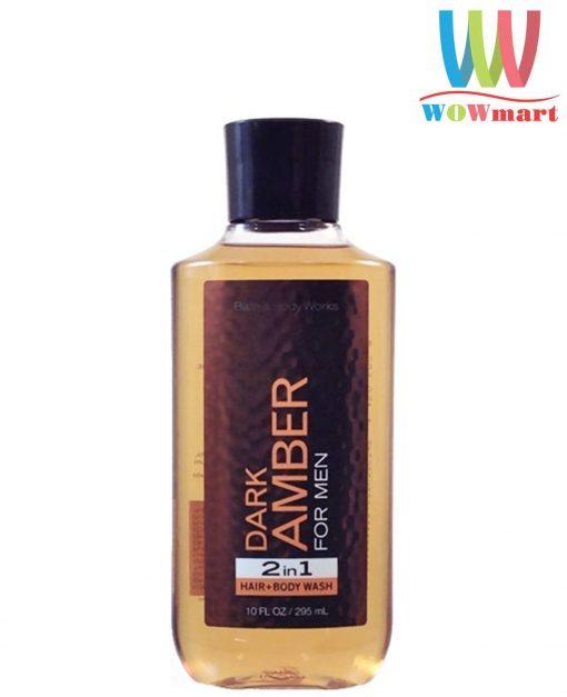 Sua tam Bath amp Body Works Dark Amber Body Wash 259ml