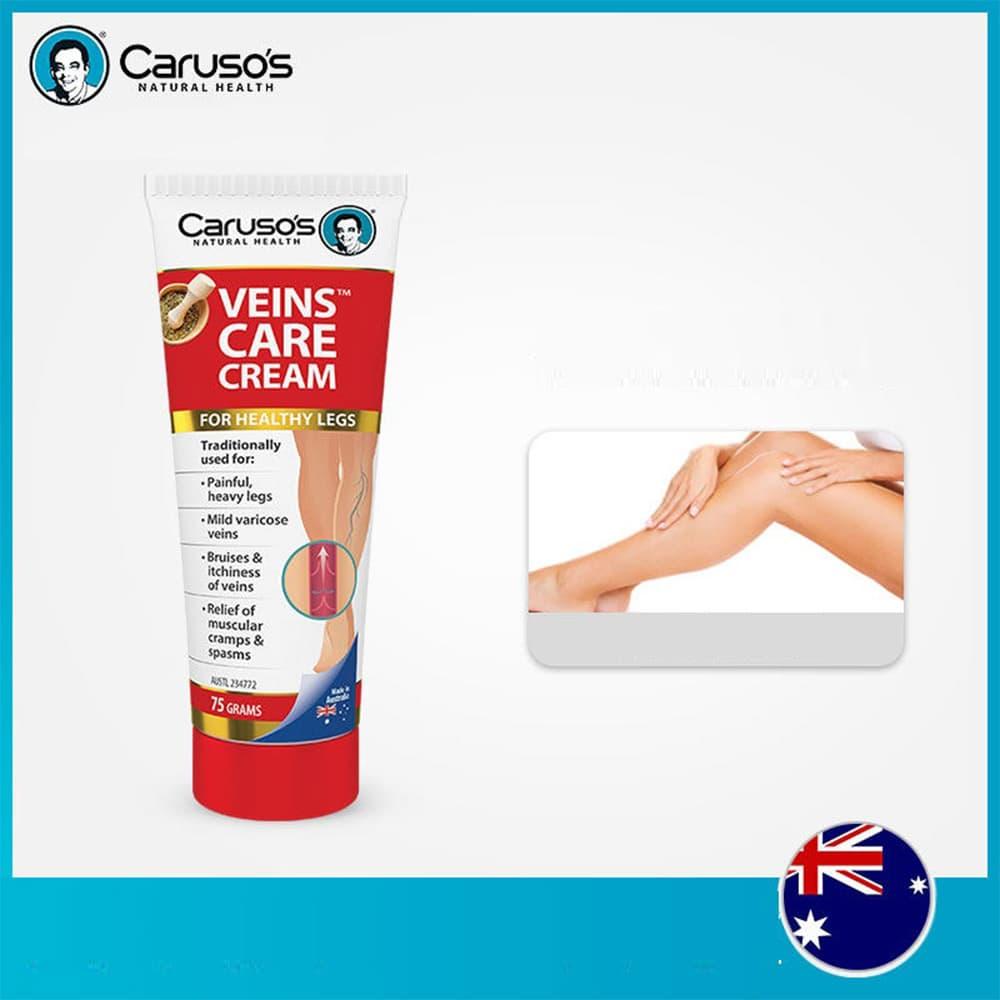 Kem bôi điều trị suy giãn tĩnh mạch Caruso's Veins Care Cream 75g