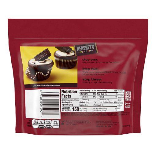 socola hershey mix 4 vi hersheys miniatures special dark chocolate 286g kc