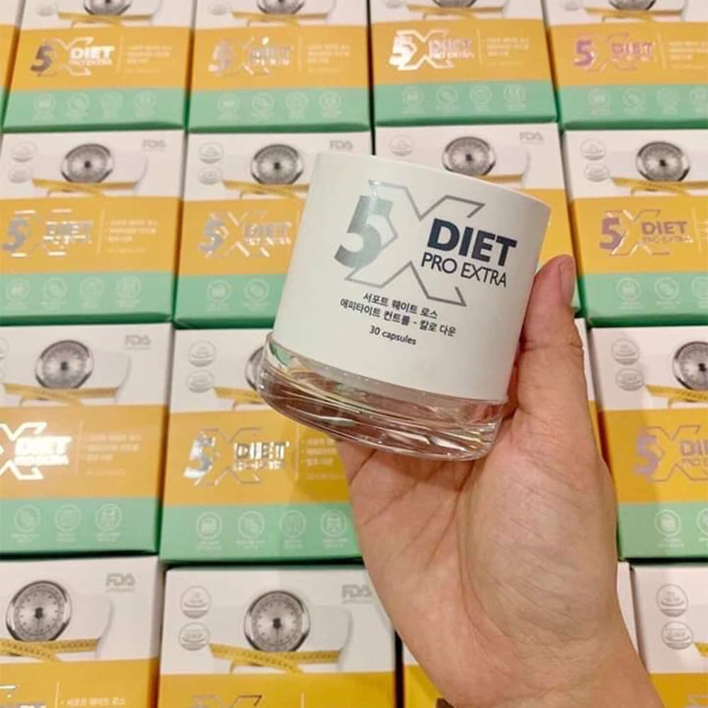 WOW 2020] Viên uống giảm cân Genie X5 Diet Pro Extra 30 viên