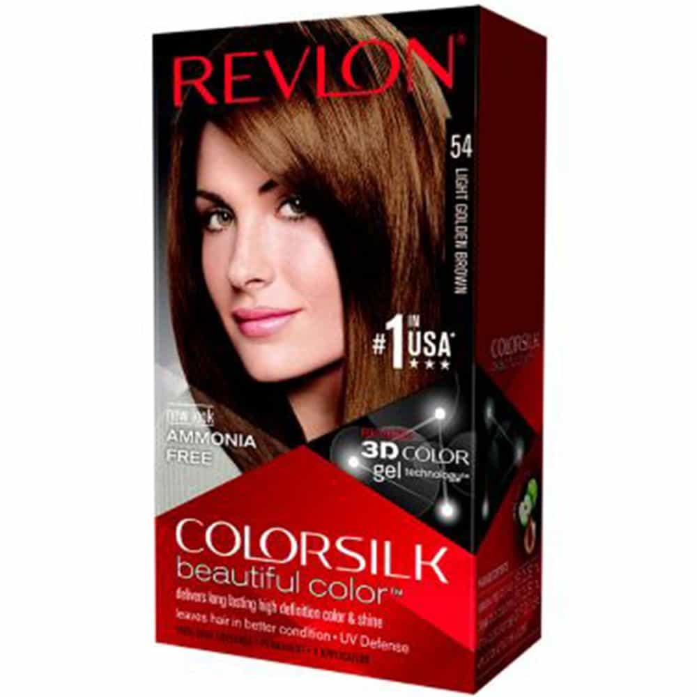 Nhuộm tóc Revlon Colorsilk Light Golden Brown số 54