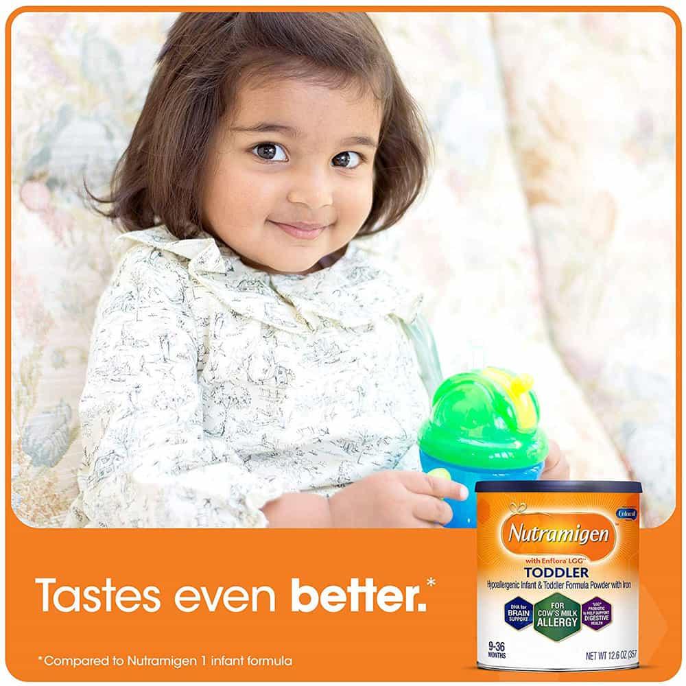 Sữa Enfamil Nutramigen Toddler Formula từ 9-36 tháng dị ứng đạm sữa bò 357g