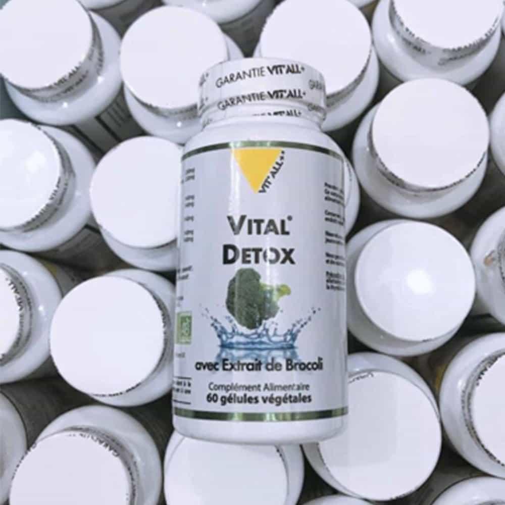 Viên uống thải độc Vital Detox 60 viên