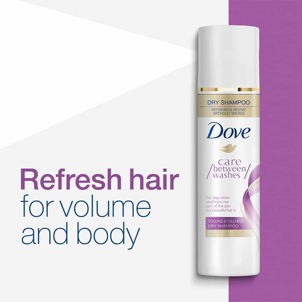 Dầu gội khô Dove Volume & Fullness Dry Shampoo 207g