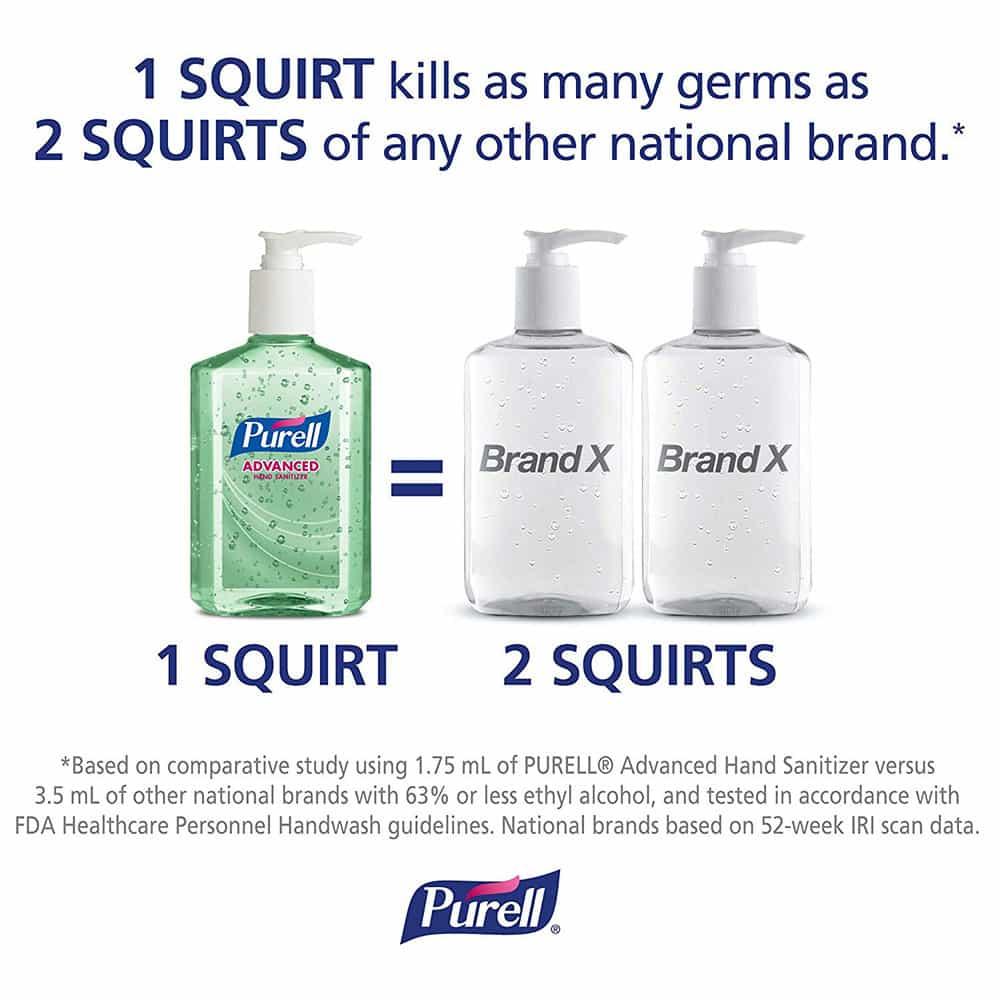 Gel rửa tay khô Purell Advanced Hand Sanitizer Soothing Gel 236ml