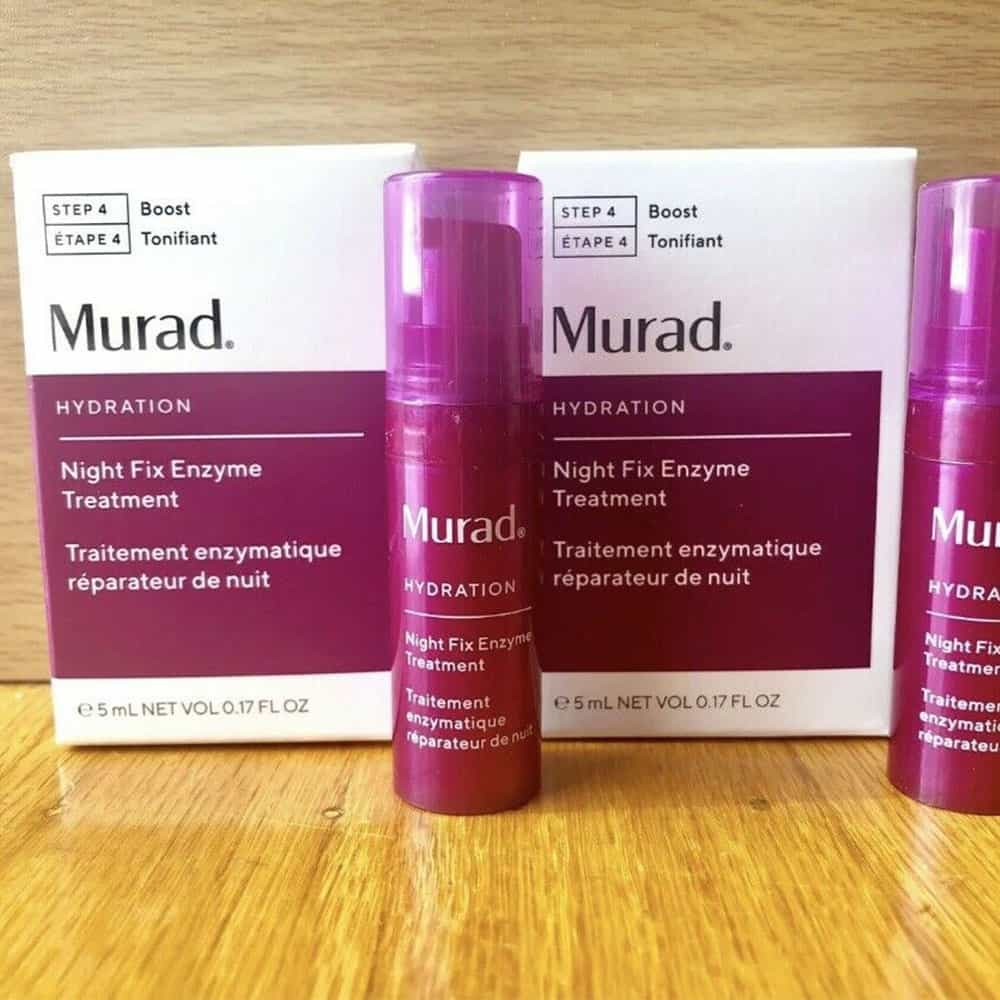 Kem dưỡng chỉnh sửa da ban đêm Murad Hydration Night Fix Enzyme Treatment 5ml