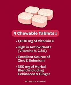 keo ngam bo sung vitamin va khoang chat tu airborne immune support supplement 32 vien dau kf