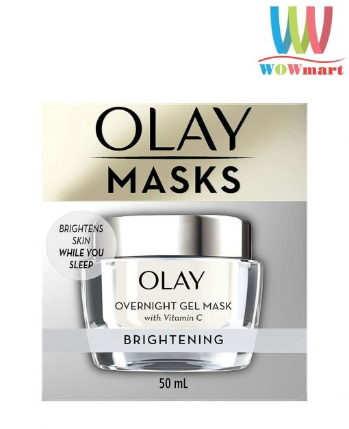 mat na ngu olay mask duong sang da olay overnight gel mask brightening 50ml k
