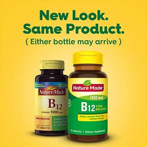 vien uong bo sung vitamin b12 nature made vitamin b12 1000mcg 75 vien kd