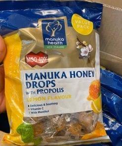 keo ngam chanh mat ong manuka health manuka honey drop mgo 400 500g kb