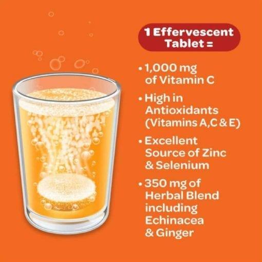 vien sui c airborne immune support vitamin c 1000mg 10 vien cam ka
