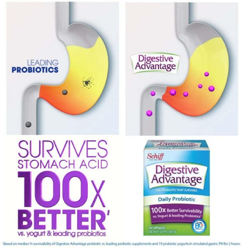 vien uong ho tro he tieu hoa schiff digestive advantage daily probiotic 30 vien kc