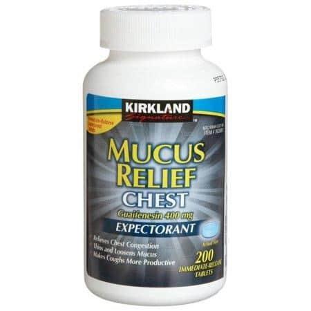 vien uong tri ho long dom kirkland signature mucus relief chest 400 vien ke