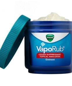 Vicks VapoRub Cough Suppressant Chest Rub Ointment 170g 2