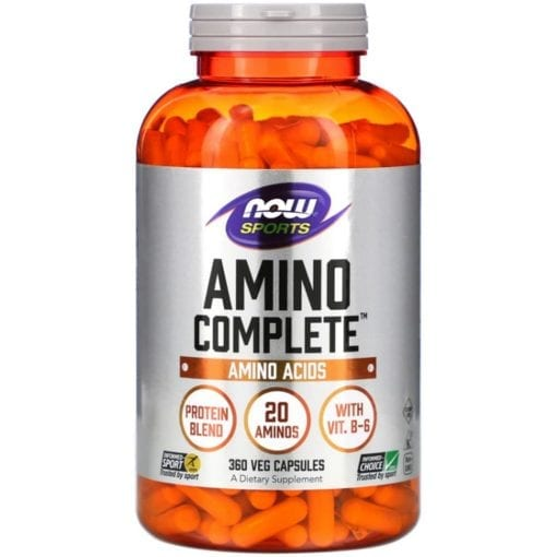 axit amin hoan chinh cho nguoi tap gym now sports amino complete 360 capsules ka