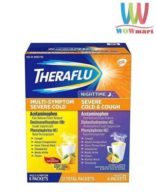 ho tro cam va ho theraflu multi symptom nighttime severe cold cough 12 goi k