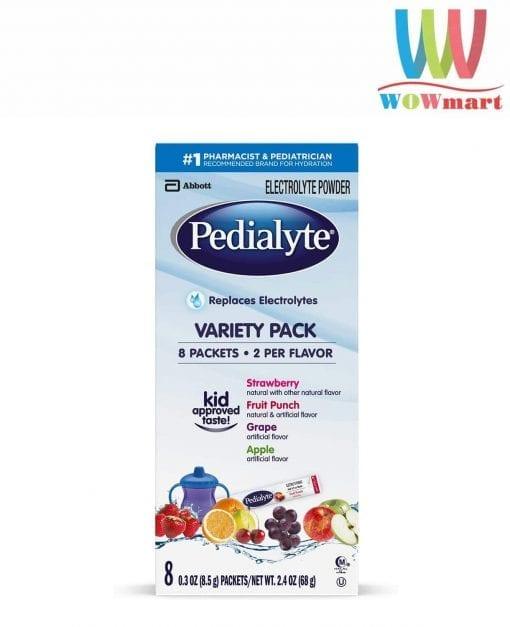 bot dien giai bu nuoc cho be pedialyte electrolyte powder 8 5g x 8 goi 4 vi k